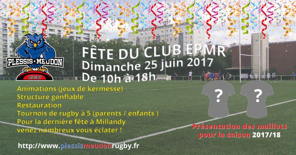 Dim. 25 Juin - Fête du Club de l'Entente Plessis-Meudon Rugby