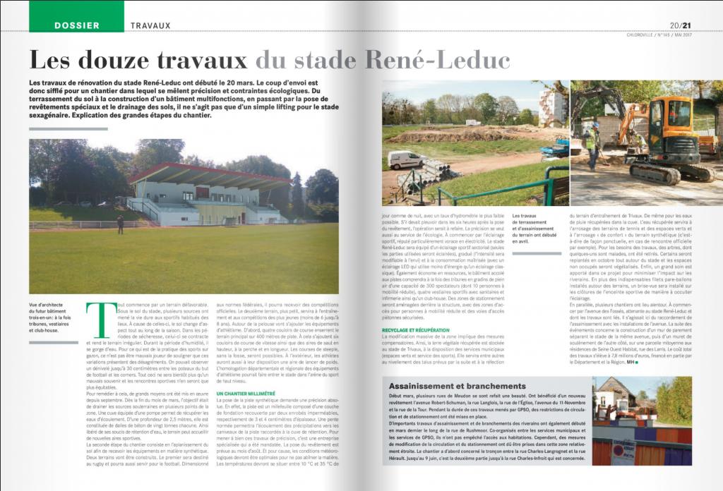 Les douze travaux du stade René-Leduc