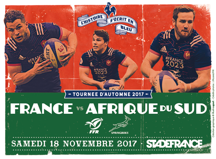 Match France-Afrique du Sud