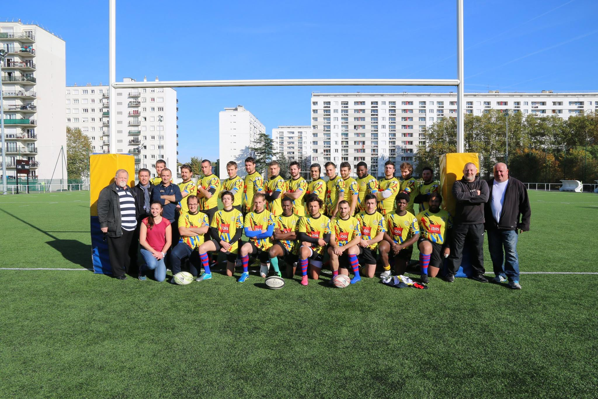 Equipe Seniors de Plessis-Meudon saison 2016/17